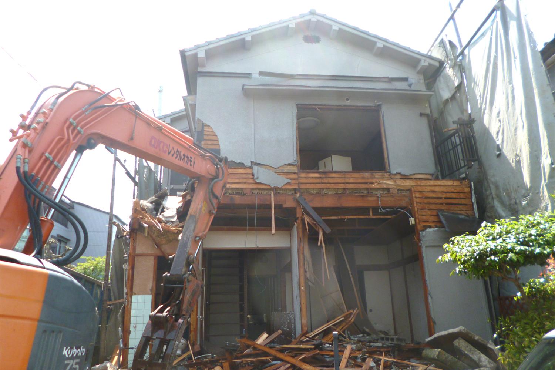 枚方市 M様邸 解体