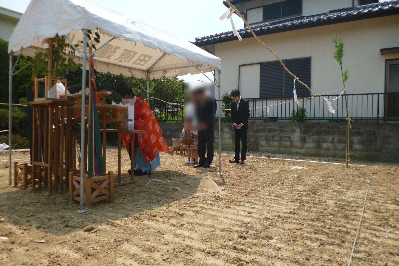 堺市 S様邸 地鎮祭