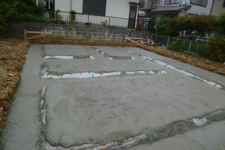 堺市 S様邸 捨てコンクリート