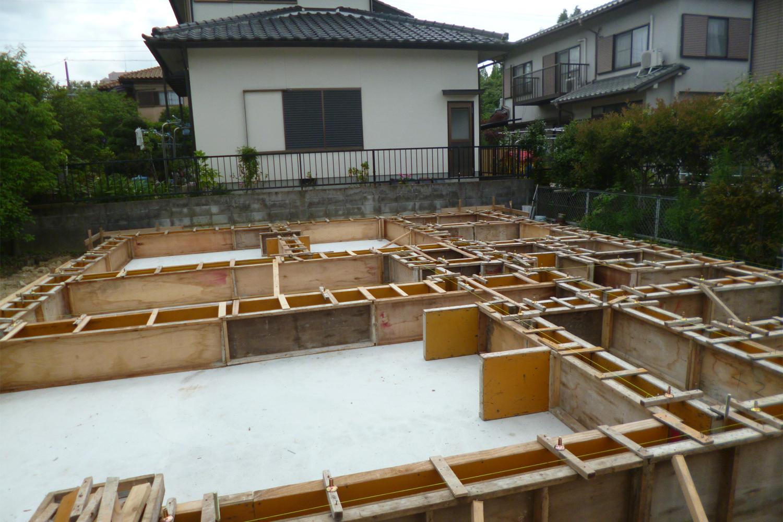 堺市 S様邸 型枠施工