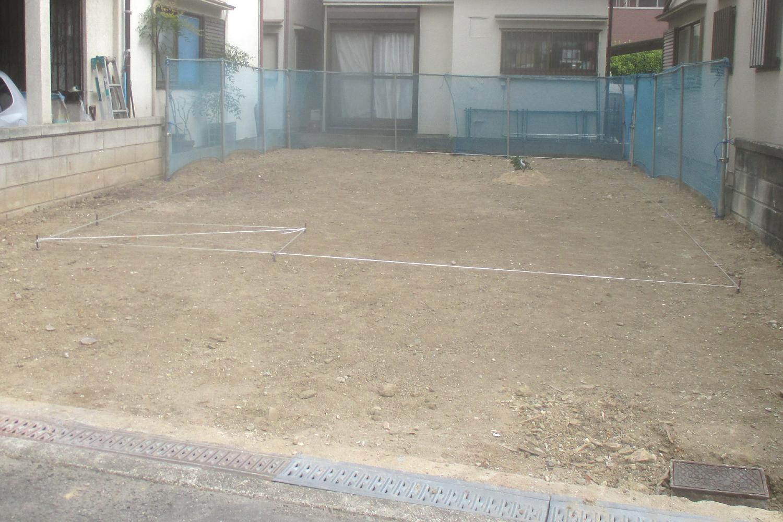 枚方市 K様邸 地縄張り