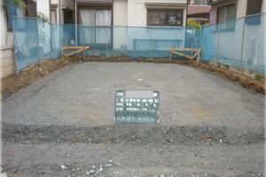 枚方市 K様邸 砕石転圧&土壌処理