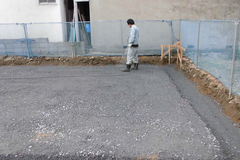 枚方市 U様邸 土壌処理